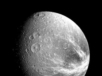 PIA01366: The Saturnian Moon Dione