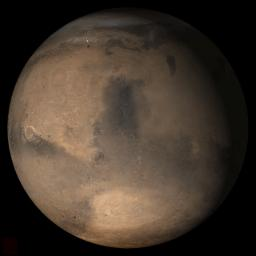 PIA03675: Mars at Ls 357°: Syrtis Major