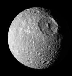 PIA06258: Up Close to Mimas