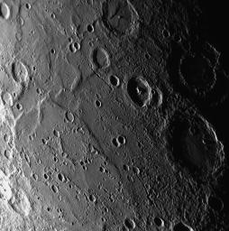 PIA10399: Mercury's Geological Architecture