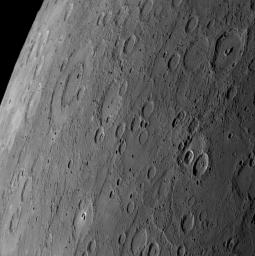 PIA10936: Peak Rings on Mercury