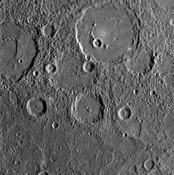 PIA11246: MESSENGER Gathers Unprecedented Data about Mercury's Surface