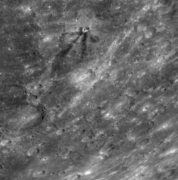 PIA11362: Dark Rays on Mercury