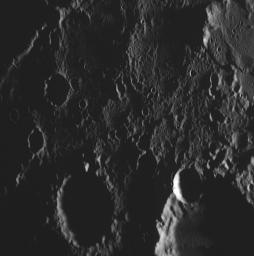 PIA11372: The Highest-resolution Image from MESSENGER's Second Mercury Flyby