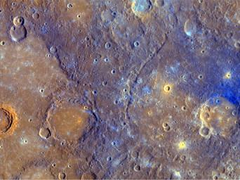 PIA11410: A Close-Up View of Mercury's Colors