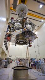 PIA13716: Moving Juno to Environmental Testing