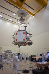 PIA13717: Moving Juno to Environmental Testing