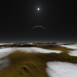 PIA19682: Pluto at High Noon (Artist's Concept)