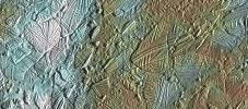 PIA01127: Europa - Ice Rafting View