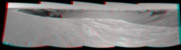 PIA01897: Opportunity's View, Sol 958 (Stereo)