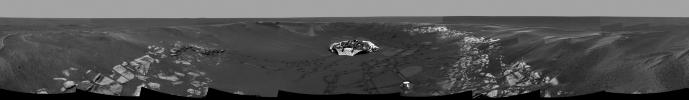 "PIA05600: Eyeing ""Eagle Crater"""