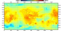 PIA16848: Global Topographic Map of Titan