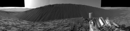 PIA20281: Slip Face on Downwind Side of 'Namib' Sand Dune on Mars