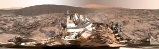 PIA20284: Full-Circle Panorama Beside 'Namib Dune' on Mars