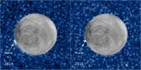 PIA21443: Hubble Sees Recurring Plume Erupting From Europa