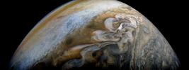 PIA21978: Jupiter's Swirling Cloud Formations